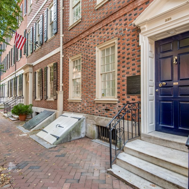 The Philadelphia Rowhouse: A History Lesson